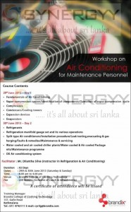 Workshop on Air Conditioning for Maintenance Personnel