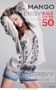 50% off at Mango Sri Lanka