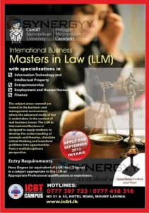 Cardiff Metropolitan University International Business in Master in Law