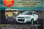 Chevrolet Captiva 2014 Prices in Sri Lanka from Rs. 6,251,000.00