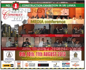 Construction Exhibition 2013 in Sri Lanka