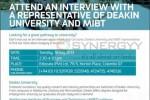 Deakin University Intakes Interview 16th July 2013