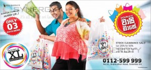 Double XL Stock Clearance Sale – Discounts Upto 20% to 50%