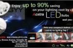 Enjoy 90% Save by LED Bulbs