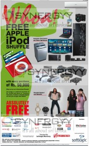 Free Apple iPod Shuffle from Softlogic