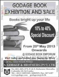 Godage Book Exhibition and Sale – Discount Upto 40%