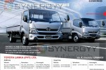 Hino Trucks in Sri Lanka for Rs. 4,100,000.00 upwards