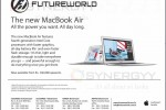 MacBook Air for Rs. 146,000.00 upwards from Future world