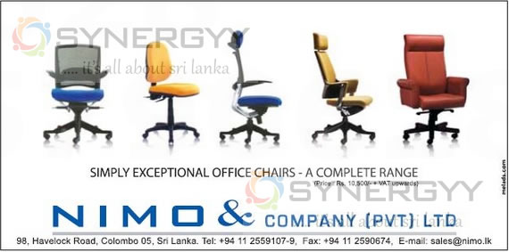Office Chairs Sale In Sri Lanka Rs 10 Upwards SynergyY