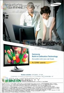 Samsung Built-in Calibration Technology  Monitor for Rs. 13,900.00 in Sri Lanka