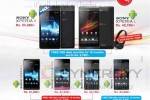 Sony Xperia Smartphone Prices from Mobitel