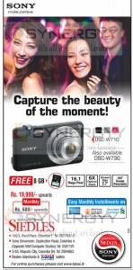 Sony DCS W710 Camera for Rs. 19,990.00