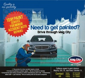 1 day Vehicle Paint service in Colombo – Mag City