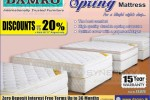20% Off for Damro Mattress today