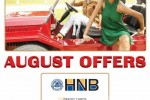 25% off at Dilly Carlo for HNB Credit Card from 1st to 4th August 2013