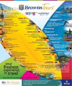 Browns Holiday Packages for August 2013
