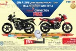 Buy TVS Phoenix 125 or TVS Metro and gets Free Dialog TV Connection till 31st August 2013
