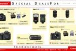 CameraLK Canon & Nikon Camera Promotions till 31st August 2013