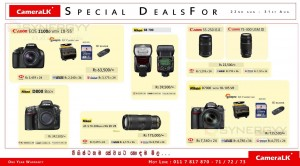 CameraLK Canon & Nikon Camera Promotions till 31st August 2013