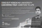 Degree Programmes at BOND UNIVERSITY – Meeting with University Representatives.