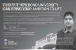Degree Programmes at BOND UNIVERSITY – Meeting with University Representatives.