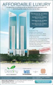 Destiny Mall & Residency in Colombo Affordable Luxury