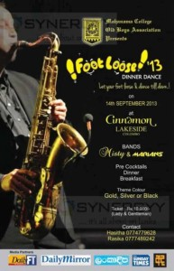 Foot Loose 13 by Mahanama College Old Boys Association