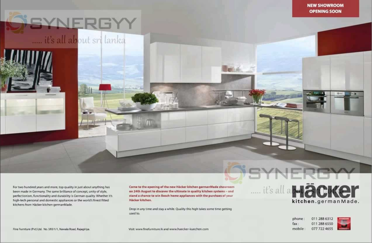 Kitchen and pantry manufacturers in sri lanka pantry for Hacker kitchen designs