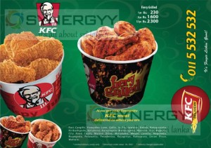 KFC Home Delivery Menu and Prices – Update August 2013-2