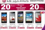 LG Optimus Smartphone on 20% off for American Express Credit Card from Abans