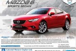 Mazda 6 – 2014 Model for USD 25,000.00 for permit Holders – August 2013