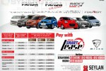 Micro Panda, Micro Tourer and Micro SUV's Leasing Options with Seylan Bank