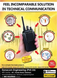 Motorola Walkie talkie in Sri Lanka