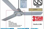 Panasonic Ceiling Fan for Rs. 6,190.00 from Softlogic