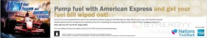 Pump fuel with American Express and get your fuel bill wiped out till 31st August 2013