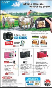 Sony Camera's in Sri Lanka – August 2013