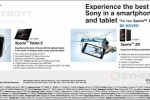 Sony Xperia™ Tablet Z for Rs. 110,690.00 and Sony Xperia™ ZR for Rs. 76,590.00 in Sri Lanka