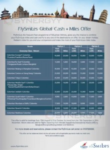 Srilankan Airlines FlySmiLes Promotion till 15th October 2013