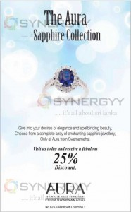 The Aura Sapphire Collection – 25% Discounts Offered Now