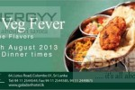 The Flavors – 11 days Veg Fever Promotion till 25th August 2013