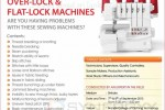 Troubleshooting Workshop on Over lock & Flat Lock Machines on 7th & 8th September 2013