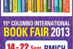15th Colombo International Book Fair from 14-22 September 2013 at BMICH