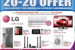 Abans LG 20:20 Promotion – American Express Credit Card