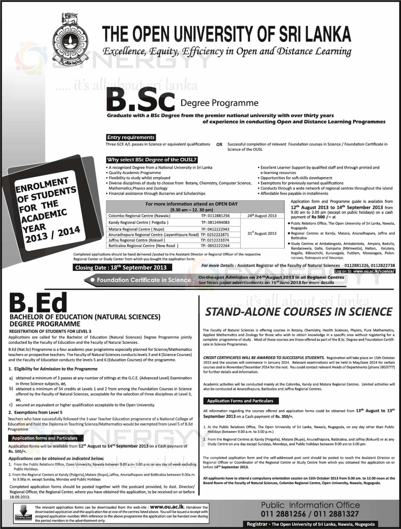 Degree Programmes In Srilanka Page 4 Synergyy