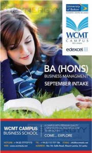 BA (Hons) Business management September intake by WCMT campus