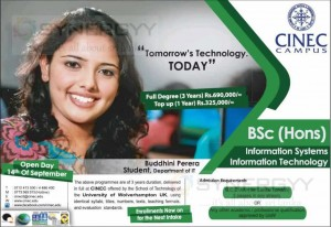 BSc (Hons) Information Systems Information Technology