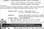 Basic Tamil & Intermediate Tamil Diploma Programme from Sri Lanka Foundation – September 2013