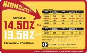 Central Finance Company Interest Rates