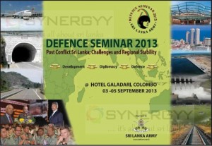Defense Seminar 2013 at Hotel Galadari from 3rd to 5th September 2013