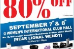 Discount upto 80% at Dinapala midyear Sale on 7th & 8th September 2013
